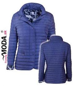 Modrá prechodná dámska bunda - trendymoda.sk Winter Jackets, Jar, Fashion, Winter Coats, Moda, Winter Vest Outfits, Fashion Styles, Fashion Illustrations, Jars