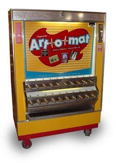 Vending Machine Art {Art-O-Mat}