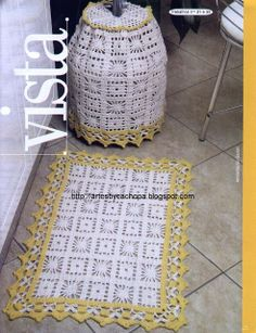 Artes by Cachopa - Croche  Trico: Tapete de cozinha