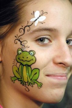 Frog Face Painting Images & Pictures - Becuo
