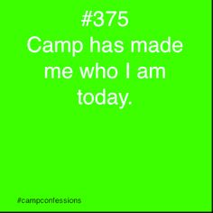Confessions of campers, counselors, and life long outdoor enthusiasts. Scout Camping, Camping Life, Camping Style, Summer Camp Quotes, Church Camp, Camping Crafts, Camping Ideas, Camp Counselor, How Lucky Am I