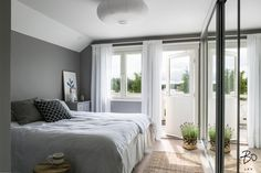 50 shades of grey - a bedroom