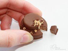 Chocolate cake by OrionaJewelry.deviantart.com on @deviantART