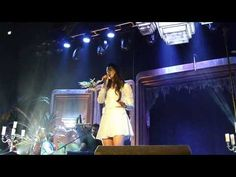 Young & Beautiful HD - Lana Del Rey - Live in Luxembourg - YouTube