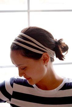 DIY: easy headband