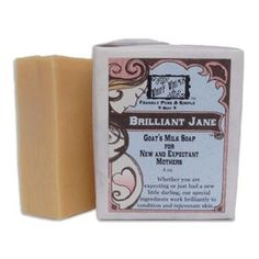 Brilliant Jane: New and Expectant Mother's Soap