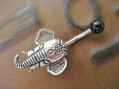 Elephant Belly Button Ring Jewelry Navel Piercing