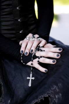 beautifully gothic ~~ For more:  - ✯ http://www.pinterest.com/PinFantasy/lifestyles-~-gothic-fashion-and-fantasy/