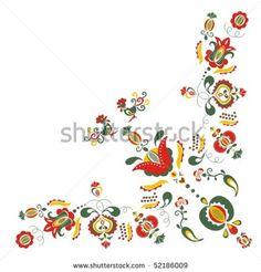 Moravia ornaments - stock vector