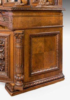Late 19th Century Oak Sideboard (Ref No. 6032) - Windsor House Antiques