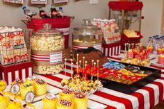 vintage birthday party ideas | Items used in this party available in Kara's Party Ideas Shop : Circus Theme