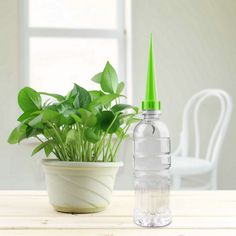 Practical 4Pcs/lot Garden Cone Watering Spike Plant Flower Waterers Bottle Irrigation System