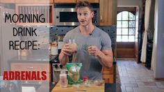 Morning Drink Recipe: Weight Loss and Adrenal Fatigue: Thomas DeLauer - YouTube