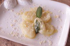 Gnocchi de batata com molho de sálvia e manteiga by Segredos da Tia Emília. .:: Segredos da Tia Emília ::..