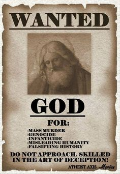 Or he'll get one of his henchmen to do the killing for him Atheist Humor, Atheist Quotes, Political Quotes, Sky Daddy, Doubting Thomas, Anti Religion, Question Everything, Truth Hurts, Christianity