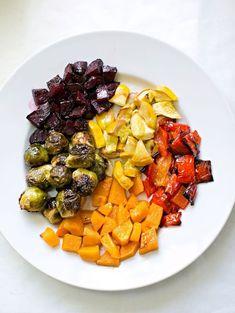 hello, Wonderful - Cooking With Kids: Rainbow Roasted Vegetables