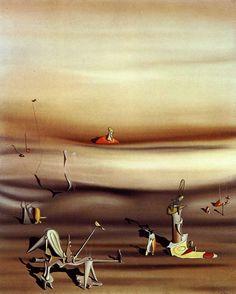 Le surréalisme - Yves Tanguy - Jour de lenteur ( 1939 ).