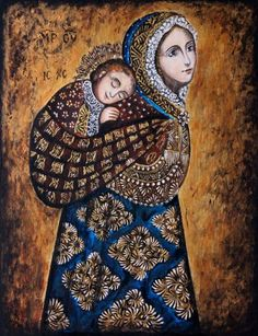 Blessed Mother Mary, Divine Mother, Catholic Art, Religious Art, Mama Mary, Jesus Art, Mary And Jesus, Spirited Art, Jesus Pictures