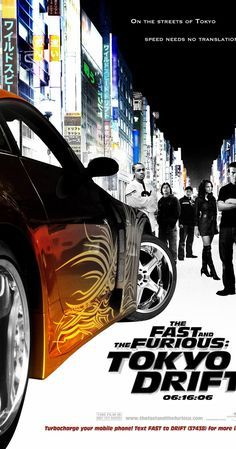 Directed by Justin Lin.  With Lucas Black, Zachery Ty Bryan, Shad Moss, Damien Marzette. A teenager becomes a major competitor in the world of drift racing after moving in with his father in Tokyo to avoid a jail sentence in America.
