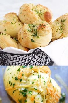 Low Carb Dinner Recipes, Cooking Recipes, Basic Butter Cookies Recipe, Weeknight Meals, Easy Meals, Garlic Rolls, Most Delicious Recipe, Garlic Parmesan, Game Day Food