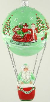 En L' Air, Early Pine with Red Sleigh Commissioned Design for Peachtree Place 2013