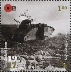Stamp: Technology of War (New Zealand) (100th Anniv. of WWI: 1917. The Darkest Hour.) Mi:NZ 3442,Sg:NZ 3882