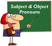 Subject and Object Pronouns ESL EFL Teaching Resources - On this page, students learn how to use subject and object pronouns. Students also learn how to identify and distinguish between subject and object pronouns. Students can also practice replacing nouns with suitable subject pronouns, and making sentences using appropriate subject or object pronouns.