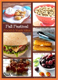 When you are planning a Fall Festival, don't forget that all those attendees are going to be hungry! Don't be boring, mix things up and satisfy the hunger with these delicious Fall Festival: Food Ideas! From themed to apple flavors, all of these foods would be great at the concession stand of your next Fall Festival.