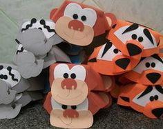 chapéus de EVA animais