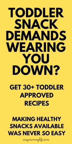Easy Toddler snack ideas and recipes that are healthy, on-the go appropriate, meal planning appropriate. Even picky eaters will love these toddler snacks. Available in a digital format at a super low price so busy moms everywhere can make avialable healthy snacks for kids without much effort. #toddlermeals #toddlersnacks #healthytoddlersnacks #toddlersnacksforpickyeaters #easyrecipes #fingerfood #pickyeater Easy Toddler Snacks, Healthy Toddler Meals, Healthy Snacks For Kids, Kid Meals, Easy Meals For Kids, Gentle Parenting, Parenting Hacks, Baby Weaning, Toddler Development