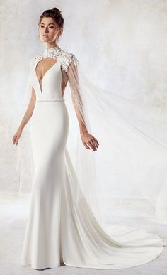 Courtesy of Eddy K Wedding Dresses; www.eddyk.com; Wedding dresses ideas.