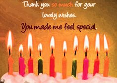 Thank you for your lovely wishes.