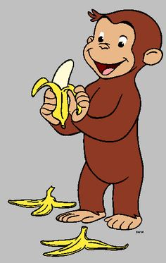 BDAY: Curious George banner image