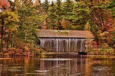 Dummerston Covered bridge, Old Sturbridge Village, Massachusetts