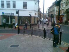 St. Nicholas Street corner. Scarborough, North Yorkshire.