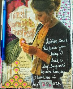 Always space to write! 3 August 2013 Journal Page - Kelly Kilmer Artist and Instructor
