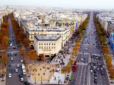 Champs Élysées Paris_ France