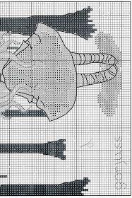 Baúl de Punto de Cruz: Muñecas Gorjuss Cross Stitch Borders, Cross Stitch Patterns, Free Pattern, Whimsical, Embroidery, Dolls, Sewing, Crochet, Stamping