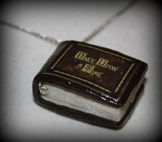 Polymer Clay Once Upon a Time Inpired Mini Story by BrulezRulez, $10.00