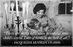 Best Jacqueline Kennedy Onassis Quotes- Best Jackie O Quotes - Town & Country Jacqueline Kennedy Onassis, Jackie Kennedy Quotes, Los Kennedy, Caroline Kennedy, John F Kennedy, Jaqueline Kennedy, Die Kennedys, Celebration Quotes, Mothers Day Quotes