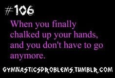 ALWAYS! You will wait in line to get up and do your routine after chalking up! AND WHAT DO I GET! NO BARS!