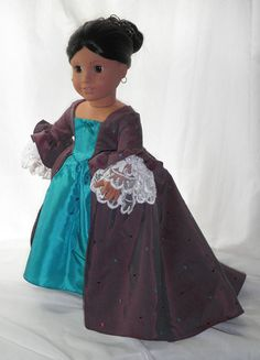 Marie Antoinette 18 Zoll Doll Kleid von SerenityStitching auf Etsy