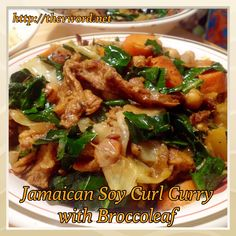 """New review on The """"V"""" Word: BroccoLeaf, the new Super Green and a recipe for Jamaican (Ital) Soy Curls Curry with BroccoLeaf. Please share and enjoy! http://thevword.net/2015/01/product-review-broccoleaf-and-a-recipe-for-jamaican-soy-curls-curry-with-broccoleaf.html"""