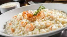Not only is it a fantastic flavour but it's also low in fat, sodium, sugar and a great source of protein. Garlic Prawns, Cooking Risotto, Risotto Recipes, How To Cook Beef, Cooking Light, Main Meals, Pasta Dishes, Dinner Recipes, Thermomix