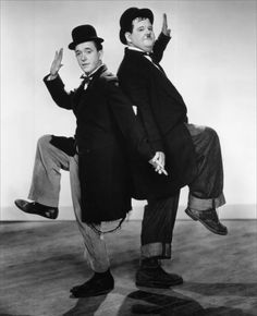 .Laurel and Hardy. Way Out West, 1937