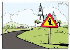 Mleczko_kościelny znak drogowy
