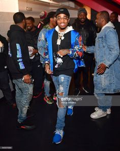 Quavo Of The Group Migos attends the Migos In Concert at Center Stage on January 28, 2017 in Atlanta, Georgia.