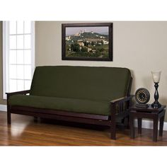 Siscovers New Suede Futon Cover Size: Twin, Upholstery: Metal
