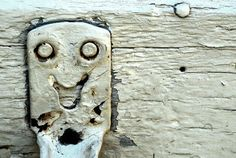 """Emotions: Have the students bring in pictures of various """"faces"""" in objects, showing happy, sad, etc."""