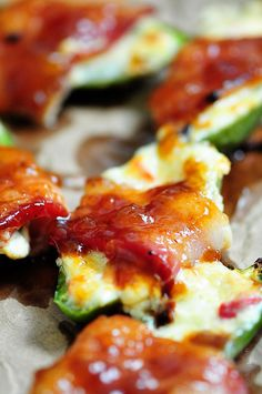 Pimento Cheese Poppers give the classic jalapeno popper on a Southern twist. These pimento cheese poppers are sure to become a favorite!